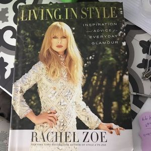 Rachel Zoe Living in Style coffee table book